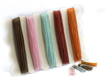 50 Meters of Thread, ideal for making small pompoms / tassels