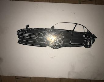 Your Car---> METAL ARTWORK 16g Steel