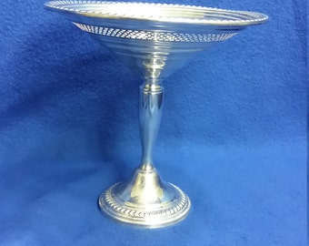 An Empire Sterling Silver Candy Dish