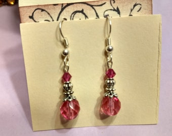 Pretty in Pink earrings