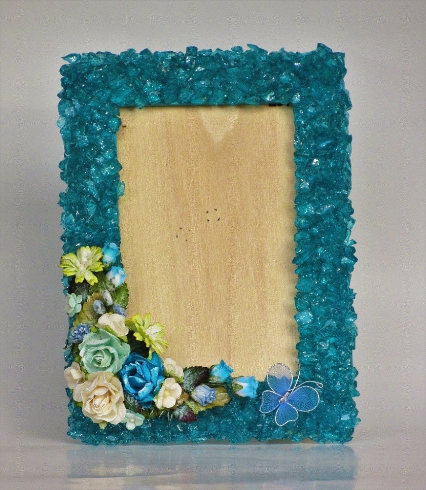 Blue decorative frame picture frame home decor blue frame description this decorative blue frame jeuxipadfo Choice Image