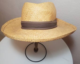 FREE  SHIPPING   Dobbs Fifth Ave New York Men Panama Hat