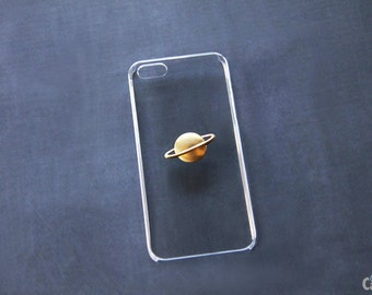 iPhone 6 Case Clear iPhone 7 Case Transparent iPhone 6s Plus Transparent Planet Saturn Case Cute iPhone 6s Case Simple iPhone 7 Plus Case