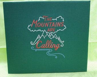 Mountains Scrapbook/Photo Album