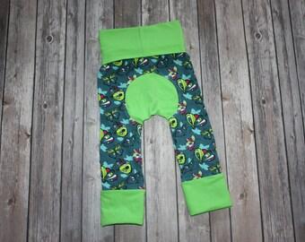 Butterfly maxaloones,maxaloones,grow with me pants,evolution pants,toddler leggings,adjustable pants,girl maxaloones,baby maxaloones