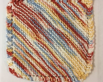 Knitted Grandma's Dishcloth