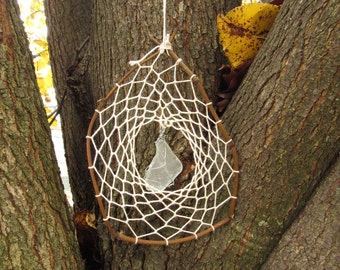 Small Grapevine Dreamcatcher Inspired Wall Hanging