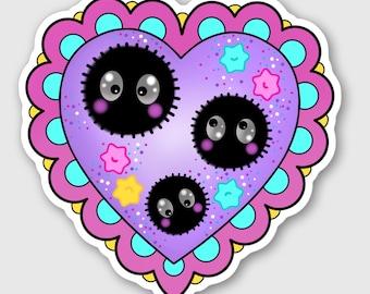 Sprites Heart - Sticker
