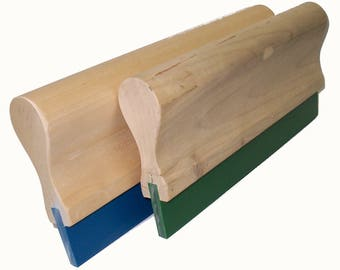 """Screen Printing Squeegee - 5""""/ 70 Durometer (Blade and Handle)"""