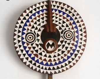 Mossi Bwa Sun mask, ethnic decoration