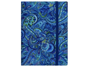 Kindle Case, Kindle Paperwhite Case, Amazon Kindle Fire HD 7 8 Case, Kindle Paperwhite Cover Kindle Cover, Nook Glowlight Plus, Blue Paisley