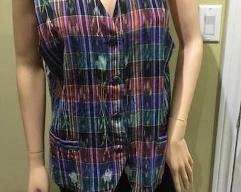 Multi coloured Vest