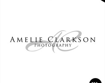 Premade Custom Signature Logo Design for Photographer or Other Business - PL012