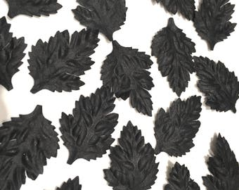 Black Oak Mulberry Paper Leaves Leaf22