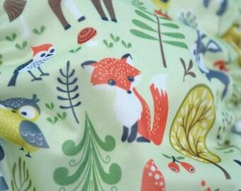 Woodland Critters Cloth Diaper