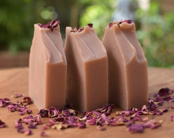 Desert Pink Soap / Handmade Soap in Fremantle, Western Australia / Palm Oil Free / Vegan / Traditional Cold Process Soap / Natural Skin Care