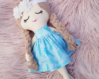 Cloth Doll, Rag Doll, Keepsake Doll, Heirloom Doll, Fabric Doll, Soft Toy, Kids Toy