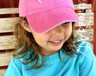 KIDS Princess Tiara Queen Crown Baseball Cap Hat Leather Strap Dad Hat Youth Child Girl Children