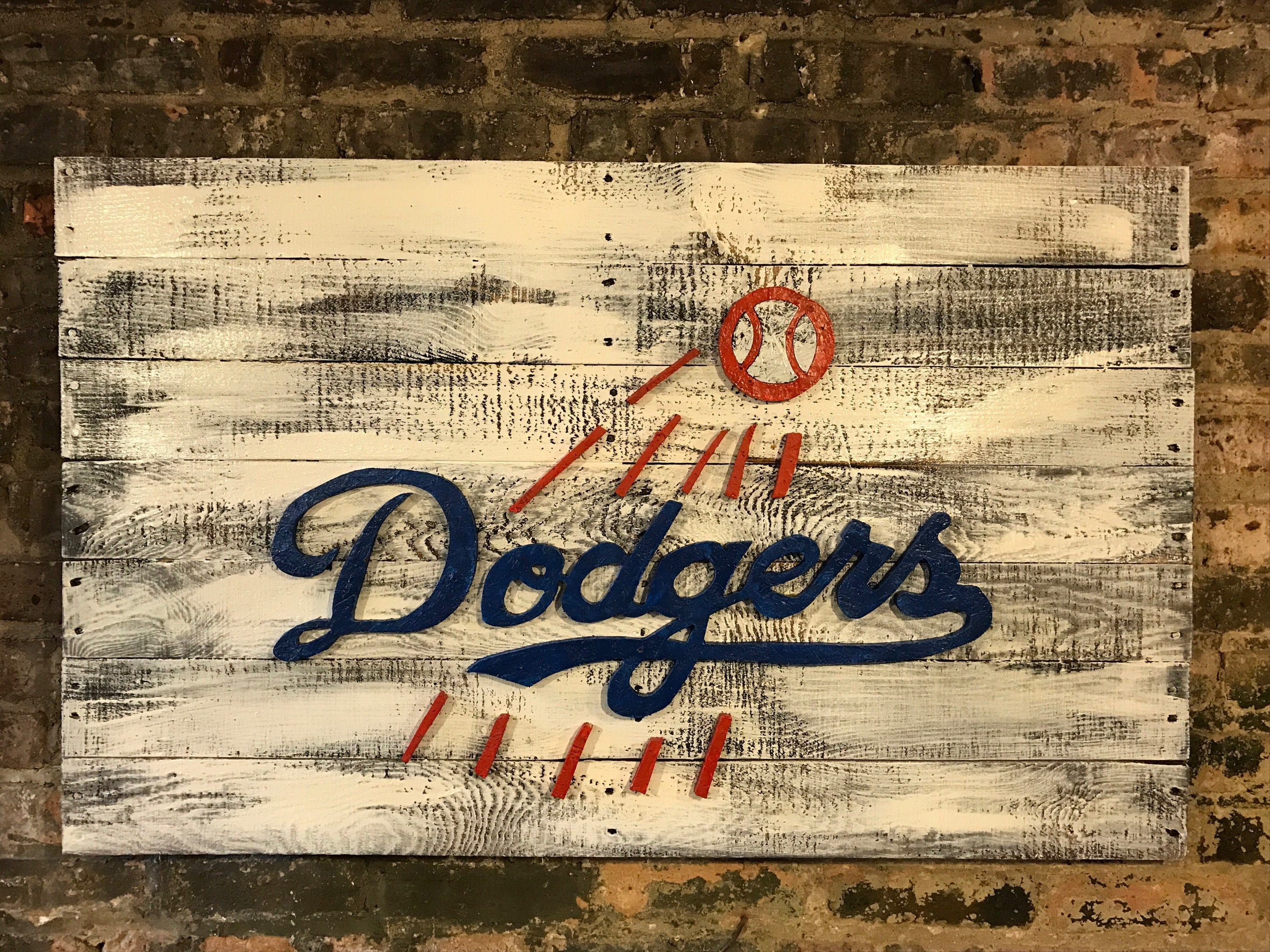 LA Dodgers City of Los Angeles Didgers Art Los Angles