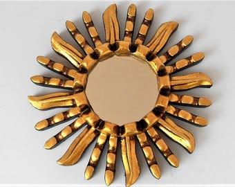 Sunburst Mirror Coastal Mirror Coast Mirror Nursery Mirror Sunburst Wall Mirror Beach House Mirror Beach Mirror Round Wall Mirror GSM59