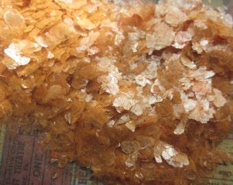 Halloween Orange Mica Flakes