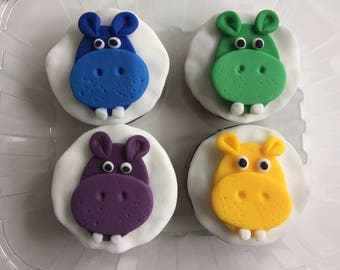Hungry Hippos Muffins