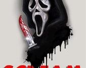 Scream - A5 Size Greeting...