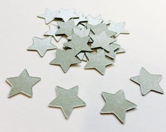 Stars confetti, shiny stars die cut, Silver stars, Gold stars, Party, Babyshower, Wedding, Bridal shower  Decoration