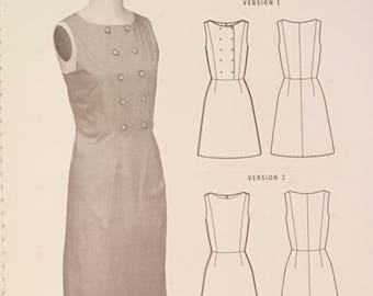 Phoebe Dress Pattern by Colette Patterns - Beginner Shift Dress Pattern - Pattern Sewing Pattern Colette Patterns Sizes 0-26 2 Versions