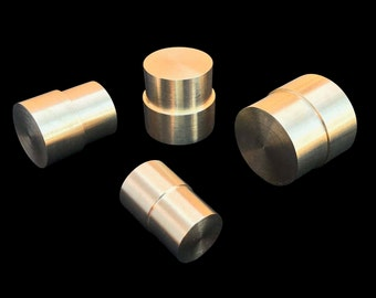 Brass Push Rod Plunger SET for the Swedish Wrap Method with 8 Diameter-Sized Options