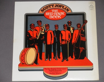 Scott Joplin - The Red Black Book - The New England Conservatory Ragtime Ensemble - Original Angel Records 1973 - Vintage Vinyl Record Album