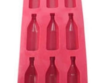 Wine Bottle Ice, Soap, Candy or Chocolate Mold