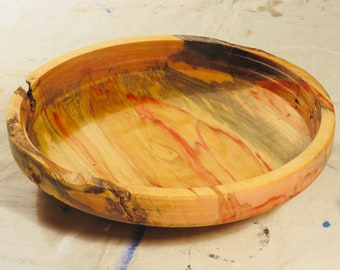 Red Flame Box Elder Bowl