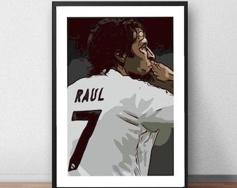 Raul Vector Print