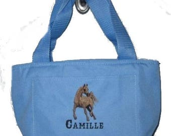 Free Shipping - Personalized Arabian Horse Lunch Bag - More Colors - monogrammed - NEW
