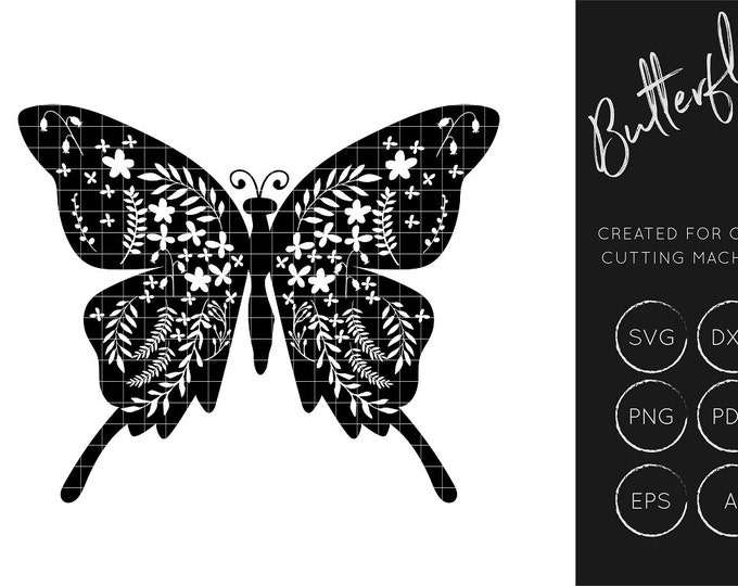 Delicate Butterfly SVG