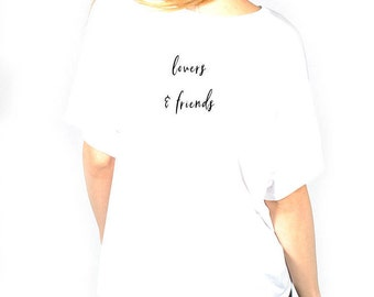 Lovers & Friends white tee
