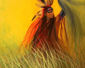 Dancing in the Grass - Fine Art Print