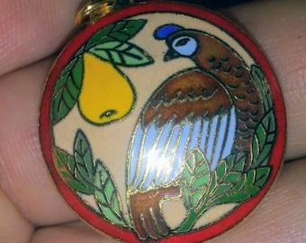 Sale-1995 Hallmark Partridge in a Pear Tree Ornament