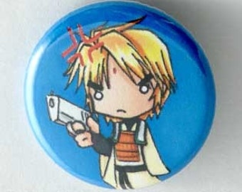 Saiyuki - Sanzo Button
