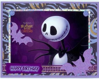 Jack Skellington Birthday Card