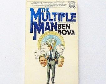The Multiple Man: Ben Bova (1977, Ballantine) Vintage Science Fiction