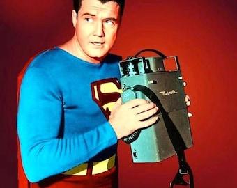 George Reeves as Superman , 1950's