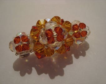 Brooch beads Orange