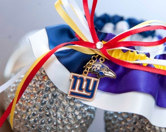 House Divided Wedding Garter