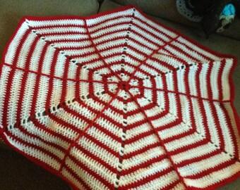 """36"""" Hexagon Baby Blanket"""