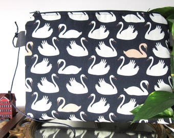 Swans cloth bag great bag brings all purse