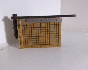 Vintage Salesmans Sample Paper Cutter