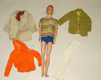 Vintage Barbie Allen Doll With Clothing In Good Shape *****1960's*******