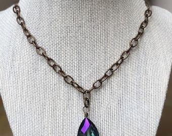 Vintage Iridescent Crystal